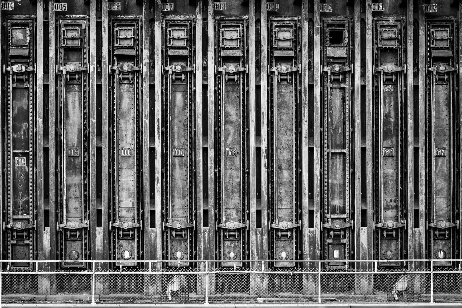Koksofenbatterie Zeche Zollverein Essen GER