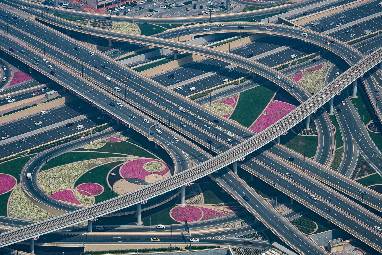 Knotenpunkt Dubai UAE