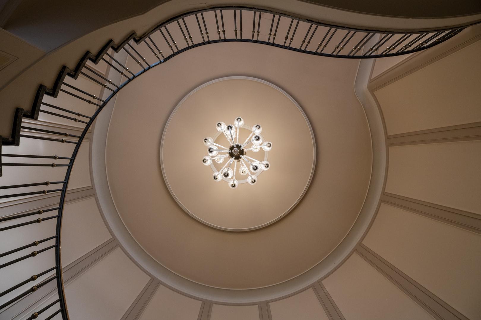 Rundtreppenhaus Hotel Dresden DE