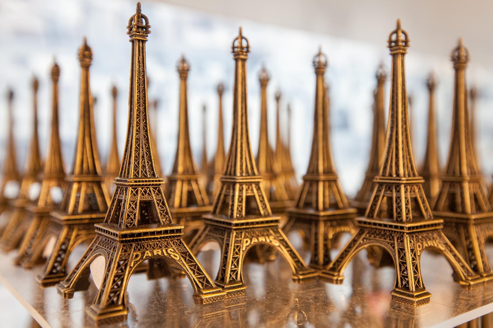 Tour Eiffel en miniature im Lafayette Paris FRA