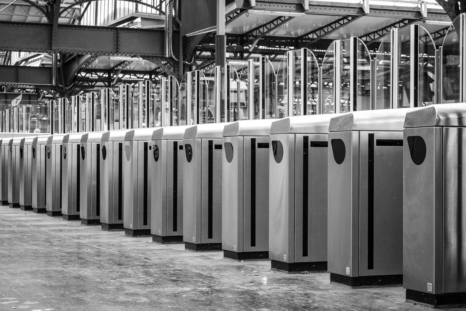 Les portes antifraude RATP Paris