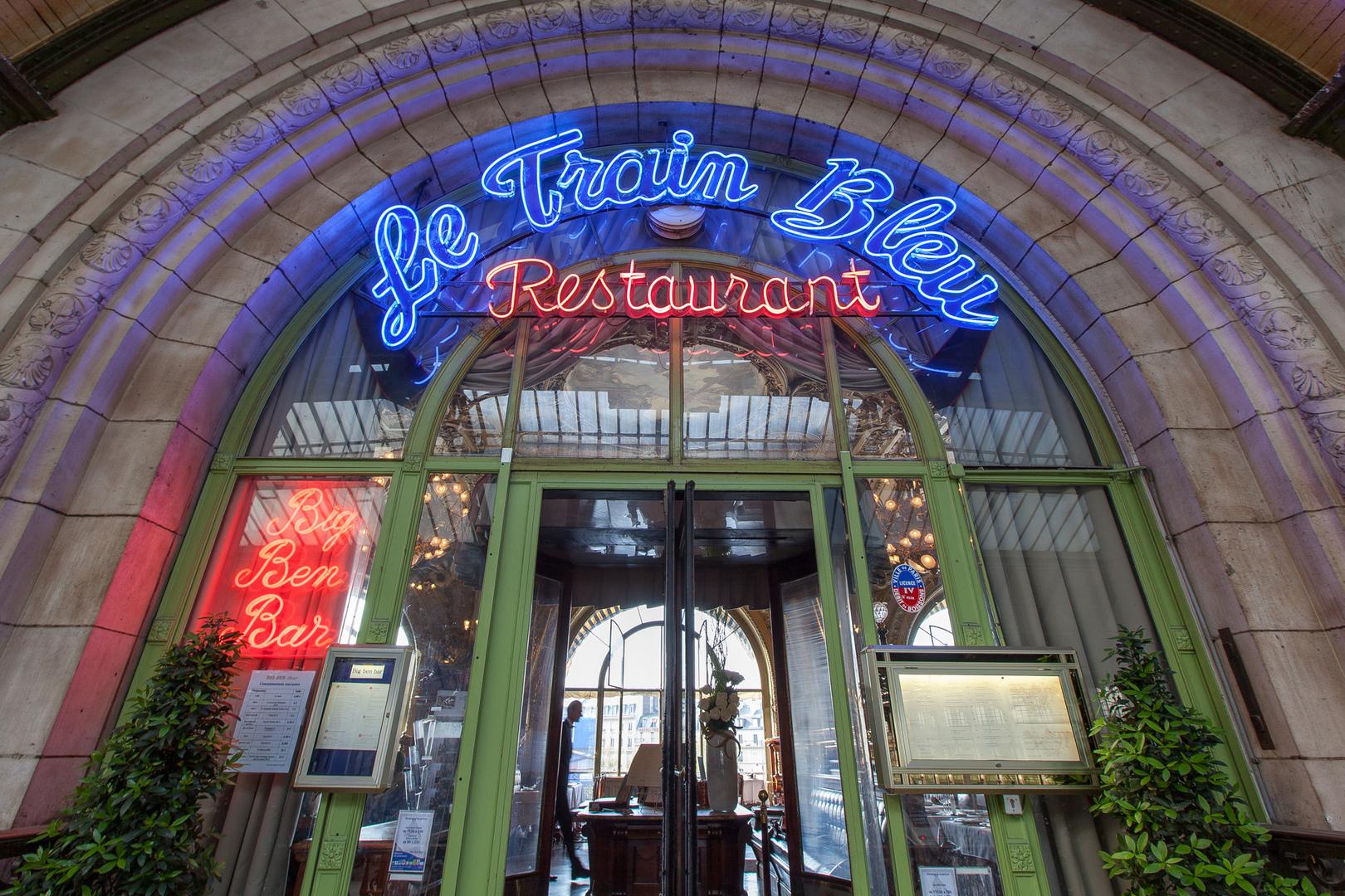 Restau Le Train Bleu Paris FRA