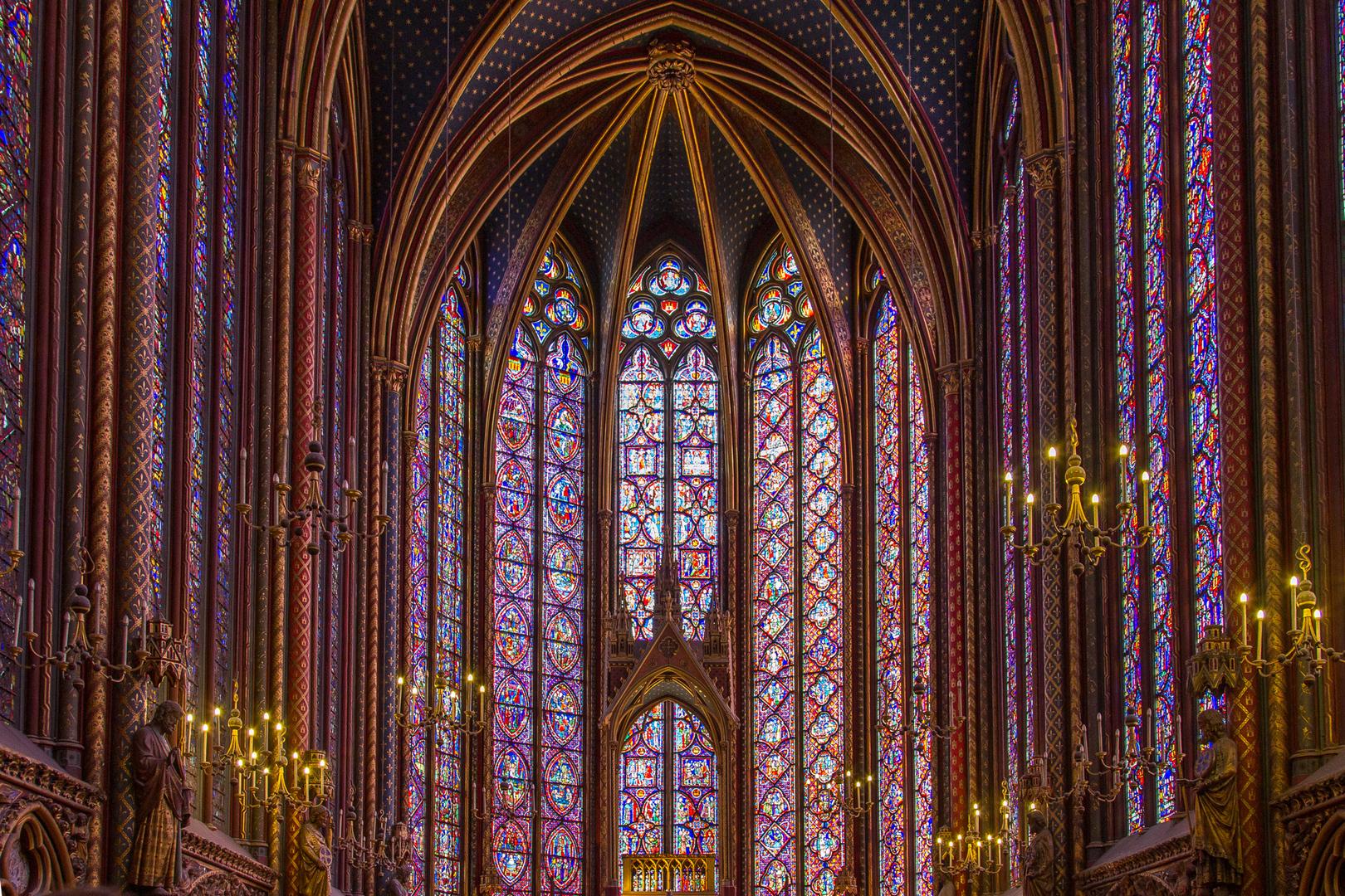 Sainte Chapelle Paris FRA