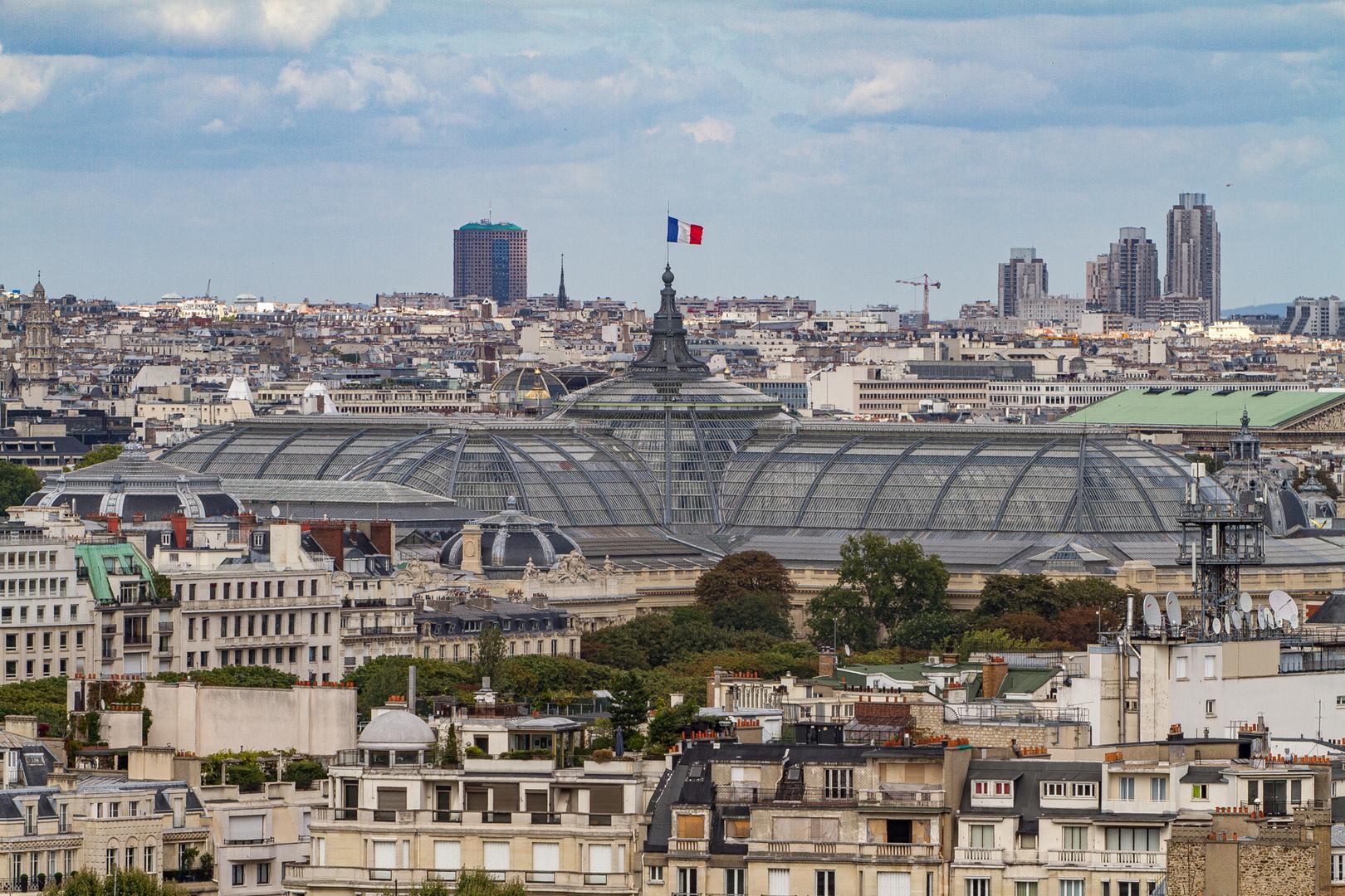 Le Grand Palais vom Tour Eiffel Paris FRA