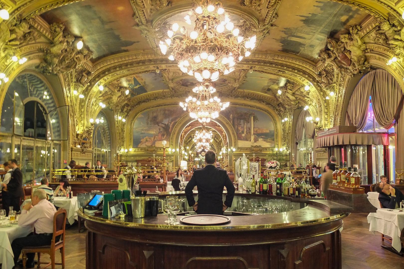 Salon Le train bleu à Paris FRA