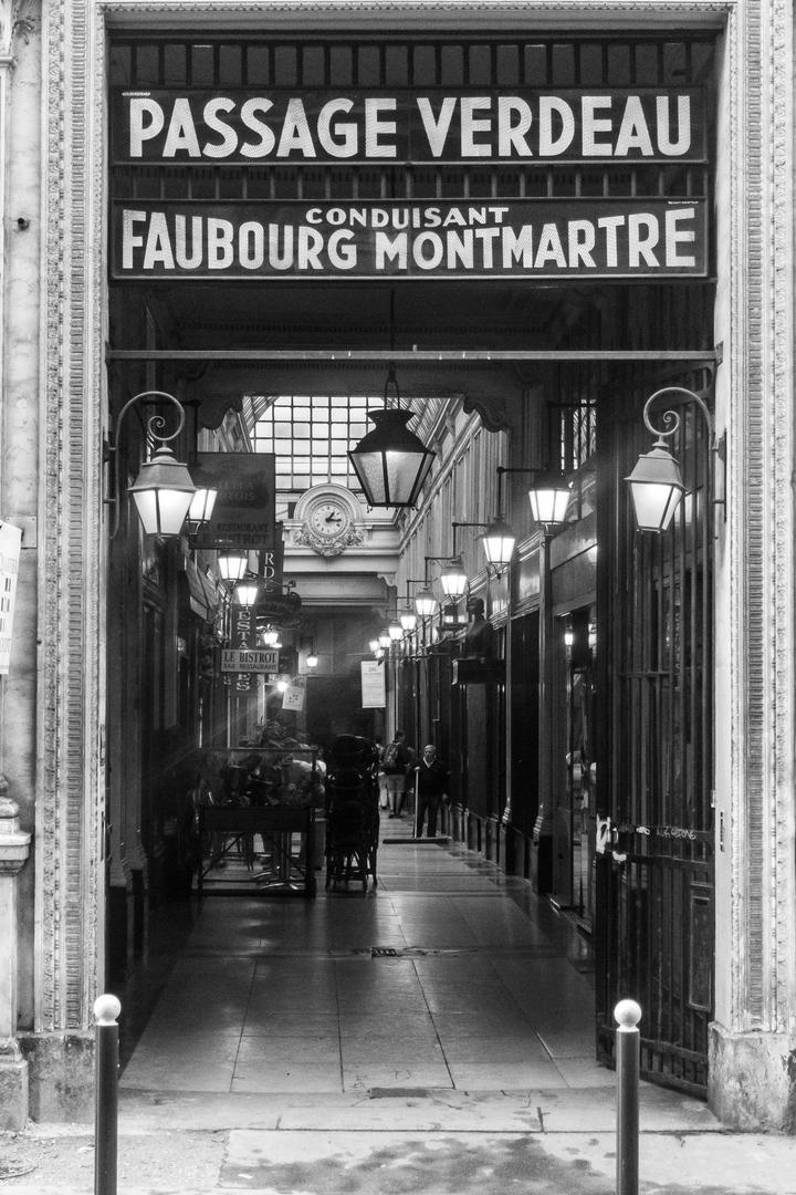 Passage Verdeau Paris FRA