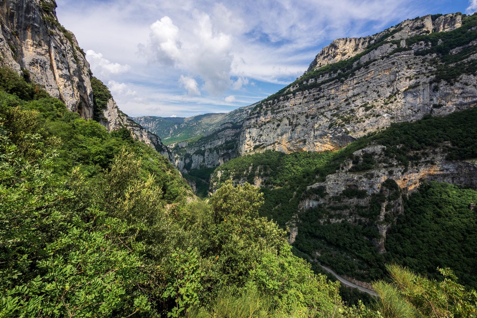 Gorges du Loup Gourdon FRA