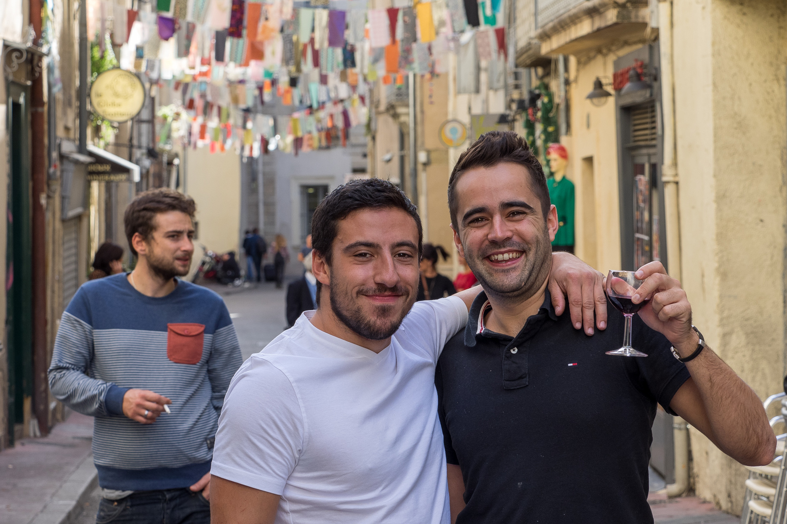 Prost! Deux hommes à Montpellier FRA