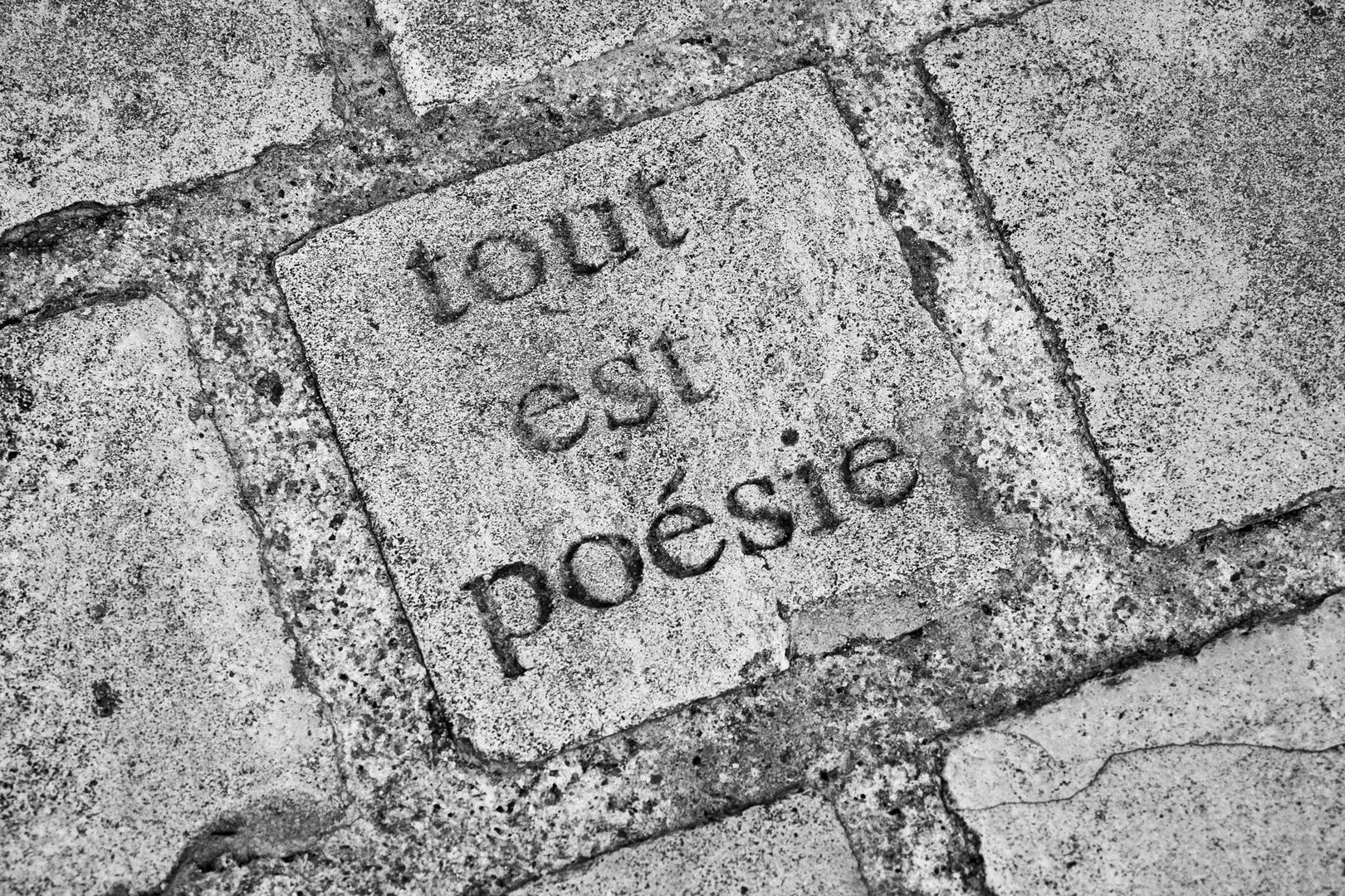 Tout est poésie