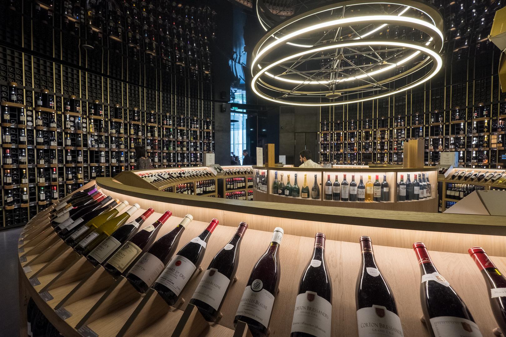 Vinotheque Musée du Vin Bordeaux FRA