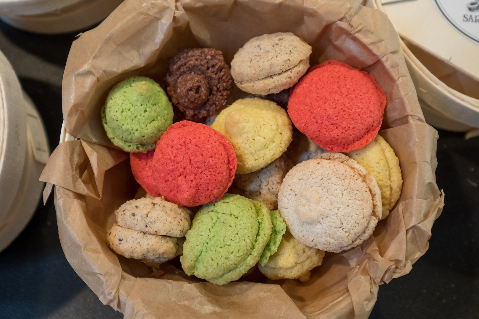 Les Macarons traditionelles