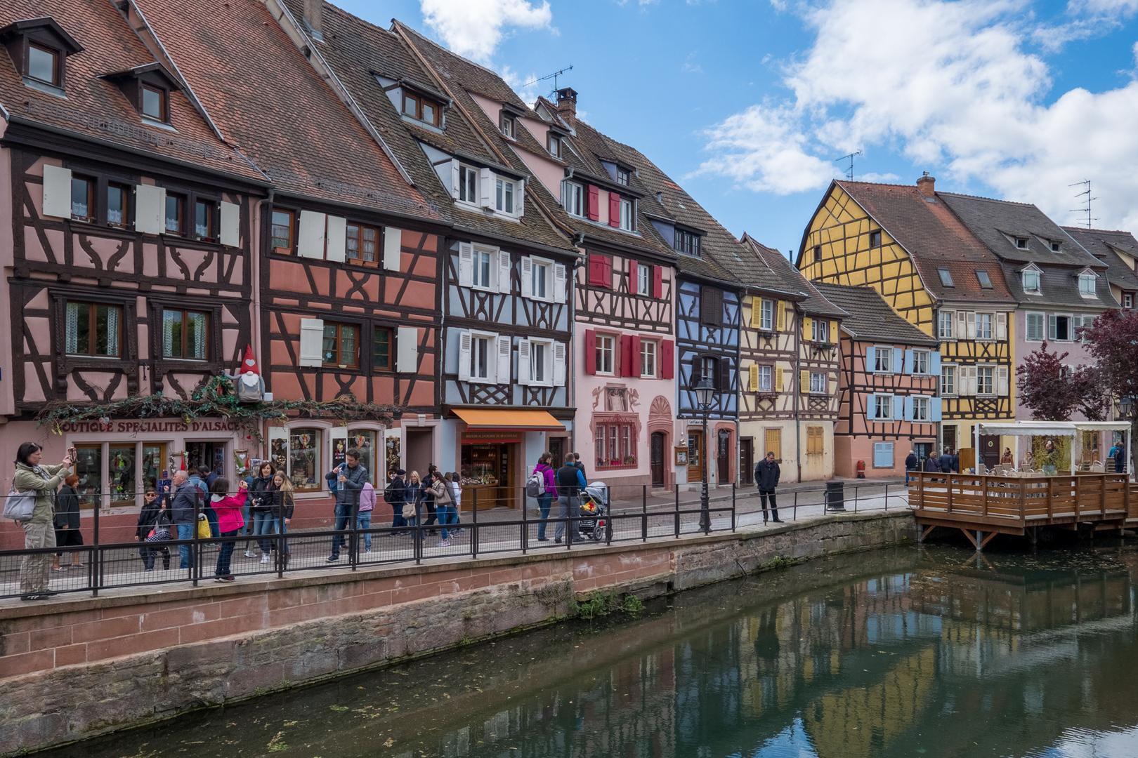 Fachwerkhäuser Colmar Alsace FRA