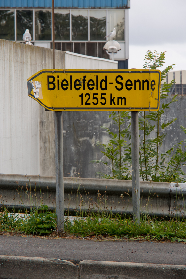 Bielefeld nur noch 1255km