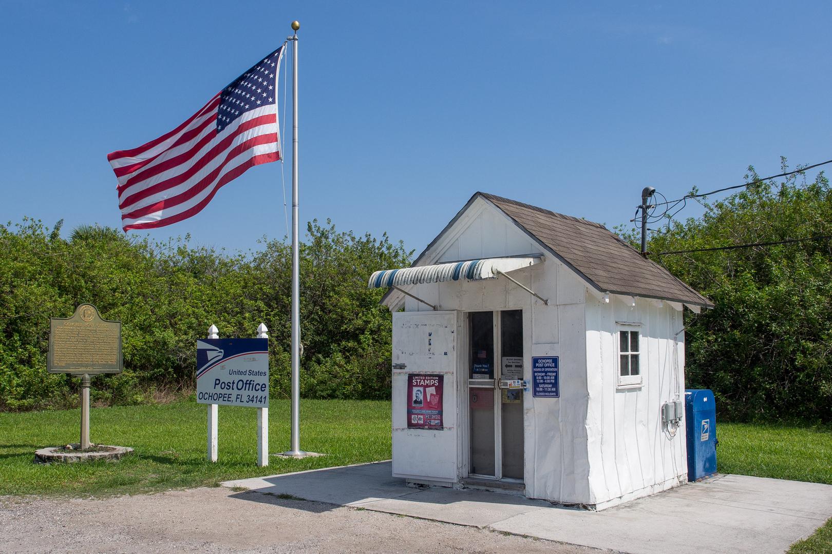 Kleinstes Postamt der USA