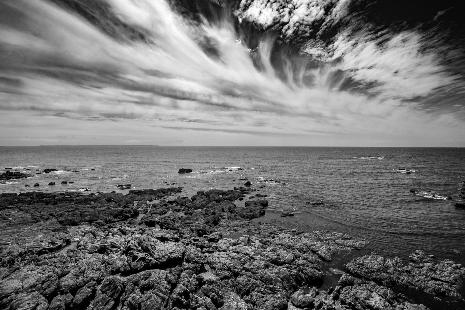 Bucht von Clohars Bretagne FRA