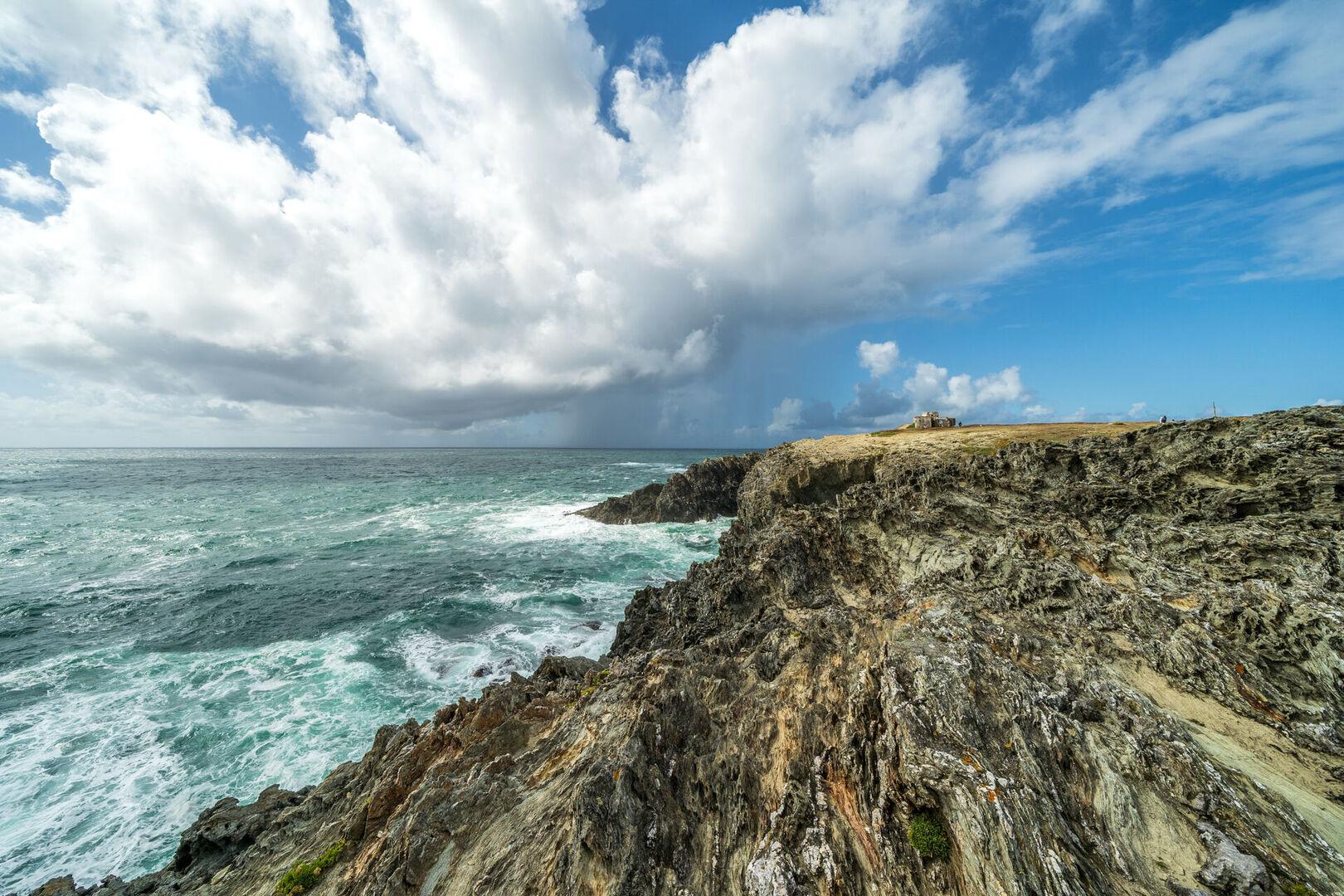 Côte Sauvage Belle Île en mer FRA